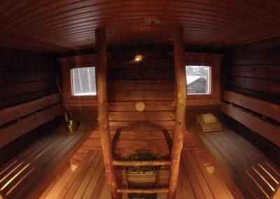 Kartanon sauna